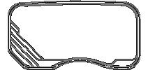 Poolscene Gympie Fibreglass Pool Shape Riviera Outline Model 7.5
